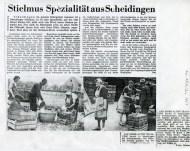 Zeitungsartikel Juni 1963