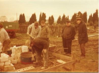 1976 Bau Leichenhalle