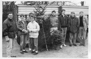 Landjugend 22.01.1991 Weihnachtsbäume einsammeln001