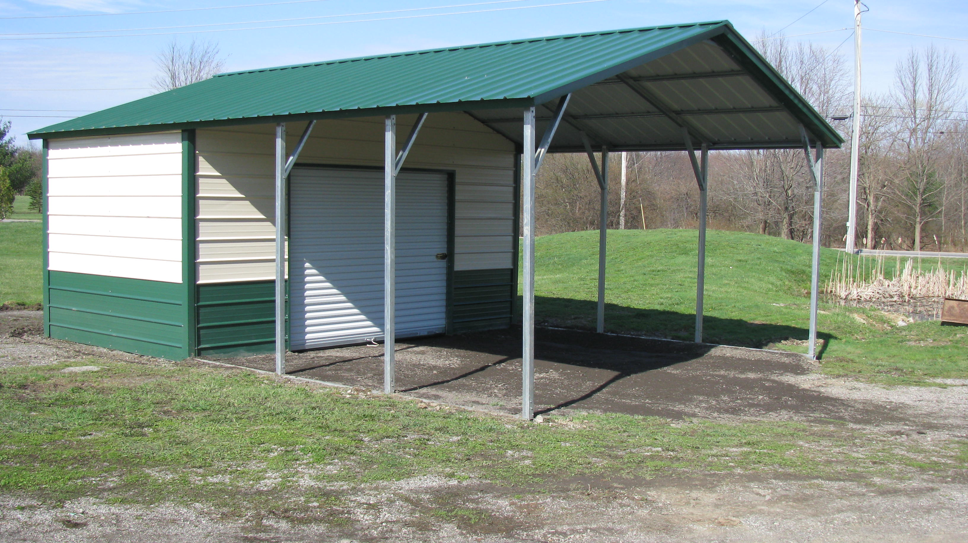 american steel buildings carport
