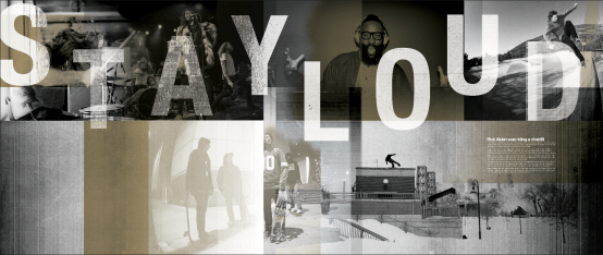 Stayloud 2015 Illustration Collage