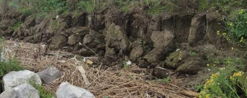 Landafslag toegangsweg schiereiland Potpolder