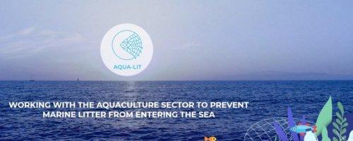 AQUA-LIT: samen met de aquacultuursector zwerfvuil in zee voorkomen