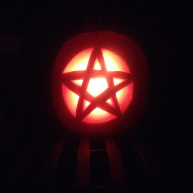 Min mand skar dette smukke Pentagram til mig.
