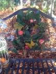 Min krans som hyldest til efteråret