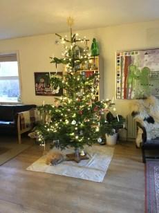 Vores fine juletræ