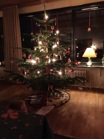 Til julefest hos min far