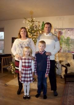 Det obligatoriske julebillede, -i år uden Sebastian