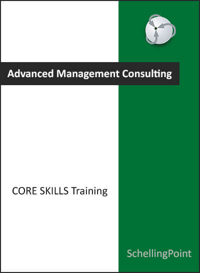 Advanced management consulting core skills training brochure