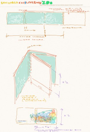 proposal booklet interior and structure/size/layout