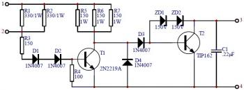 Transistor Ignition circuit diagram