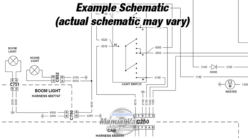 wiring diagram schematic example