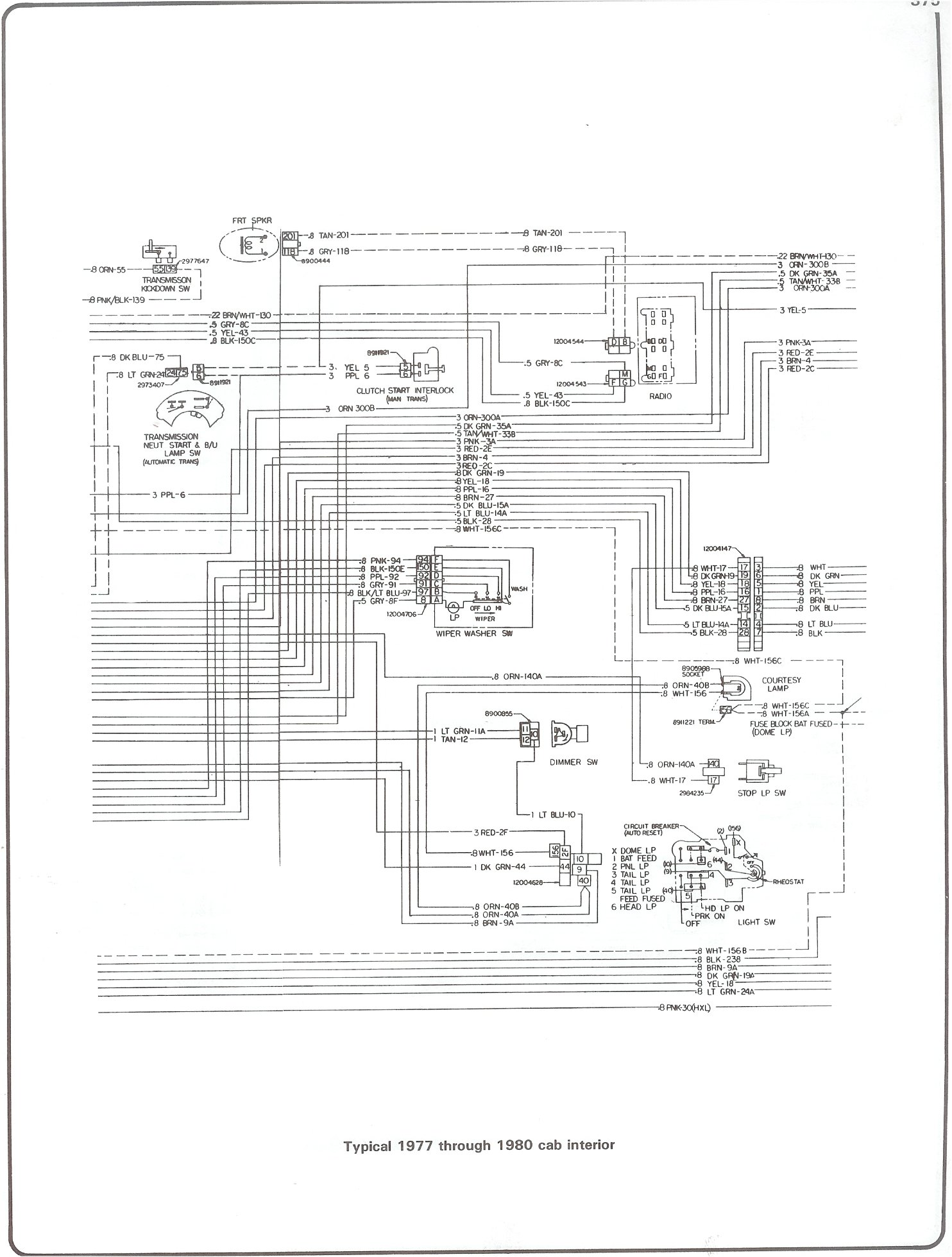 1966 Chevy Wiring Diagram
