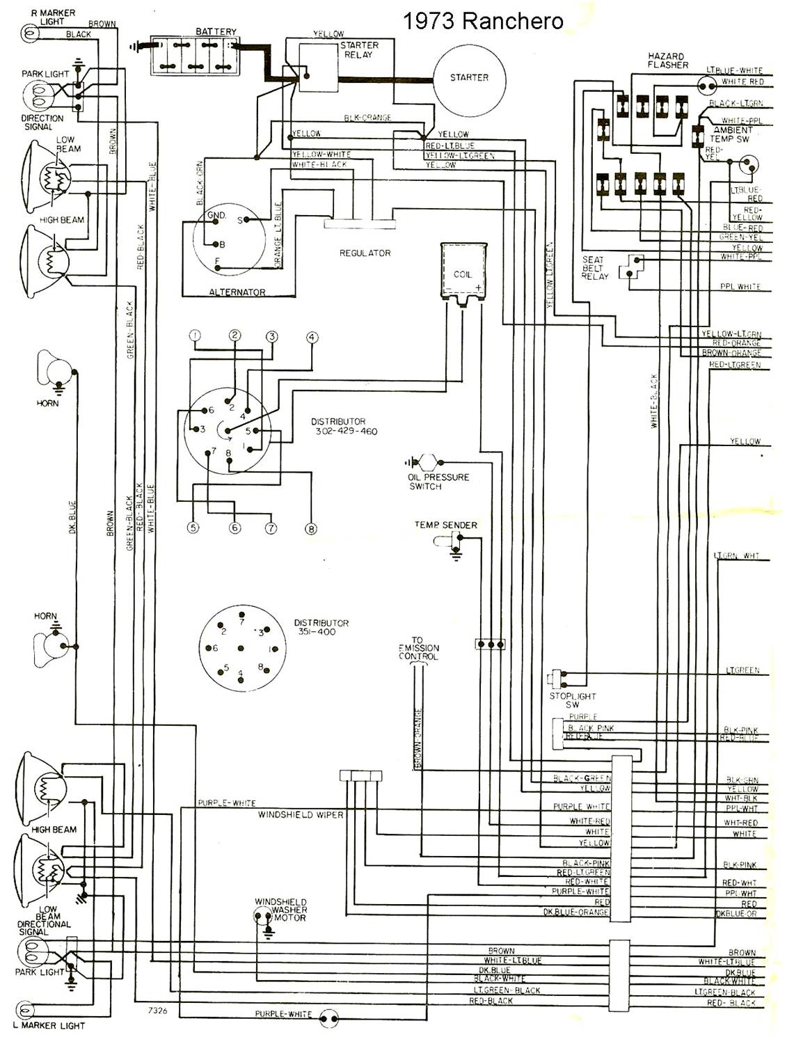 Ranchero Wiring Diagram