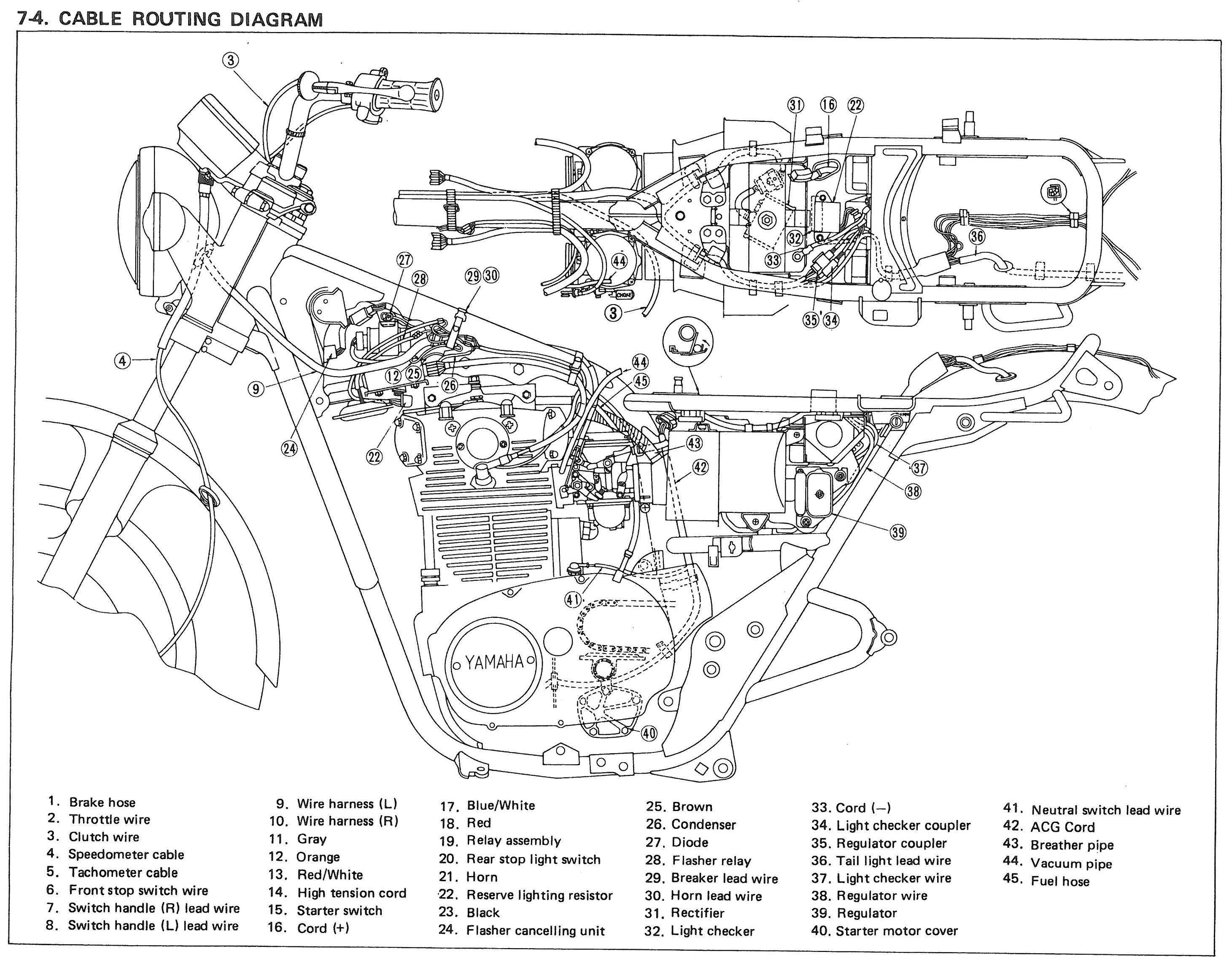 Yamaha Xs650 Wiring Diagram