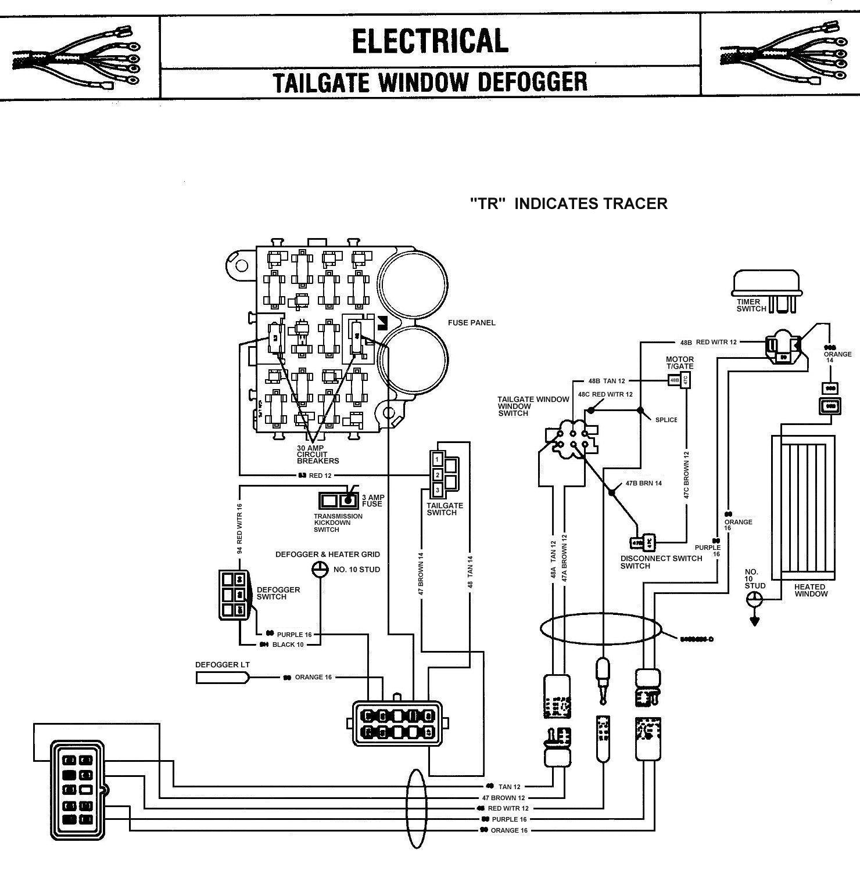 Volare Interior Wiring Diagram