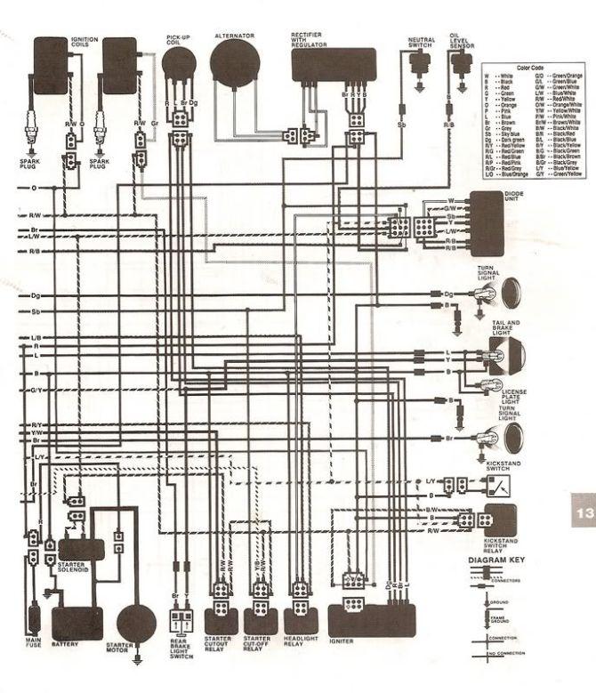diagram yamaha virago wiring diagram full version hd