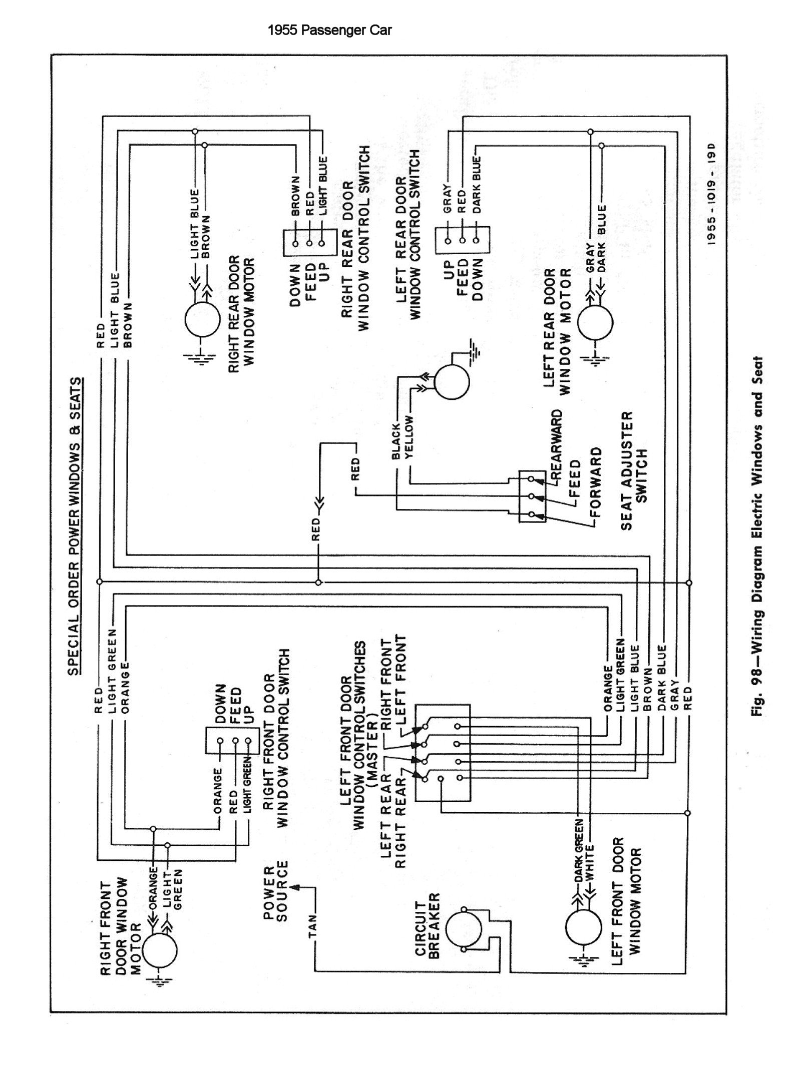Chevy K10 Truck Color Wiring Diagram