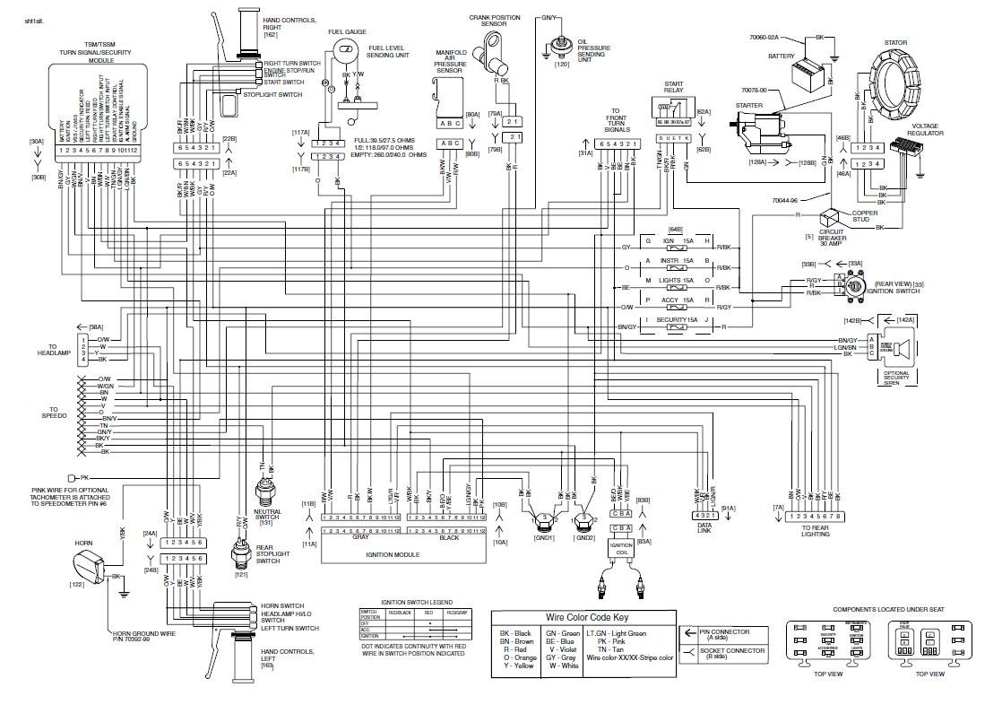 Harley Fatboy Ignition Wiring Diagram