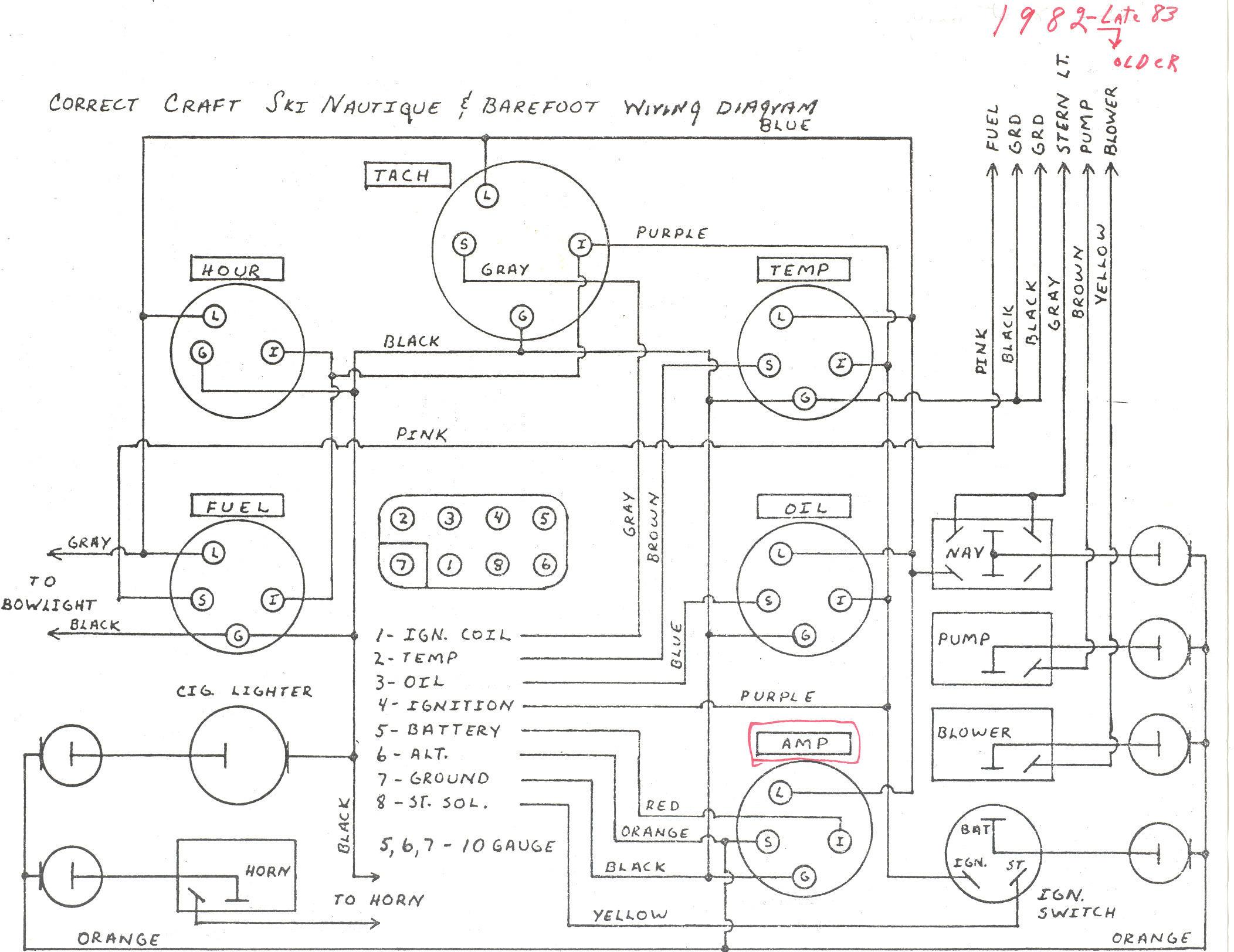 Sea Ray Sundancer 270 Bilge Pump Alarm Wiring Diagram