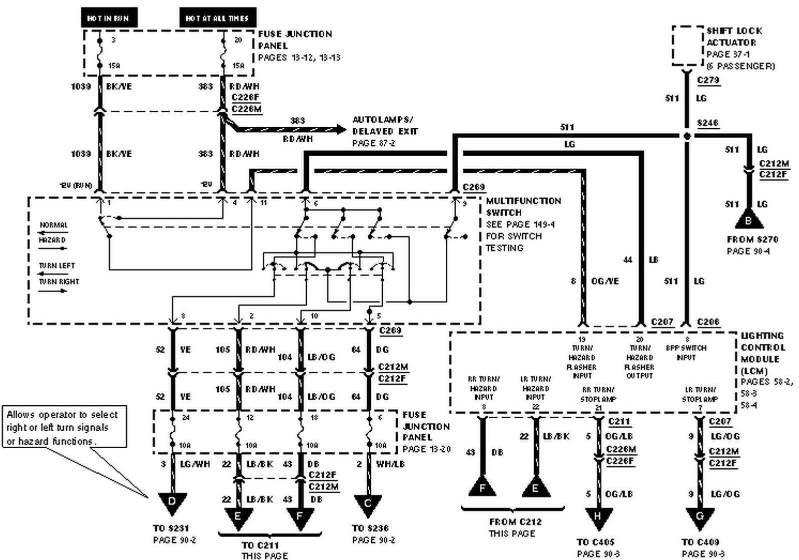 Isuzu Npr Wiring Diagram Turn Signal