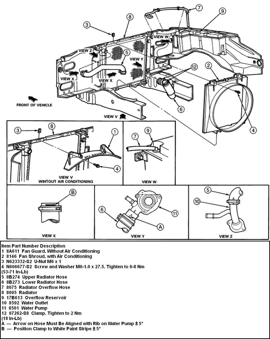 Ford Ranger 2 3 Cooling System Diagram