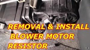 2004 Trailblazer Blower Motor Resistor Wiring Diagram
