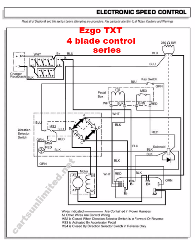 ezgo charger plug wiring diagram 48v  ford mustang 2007