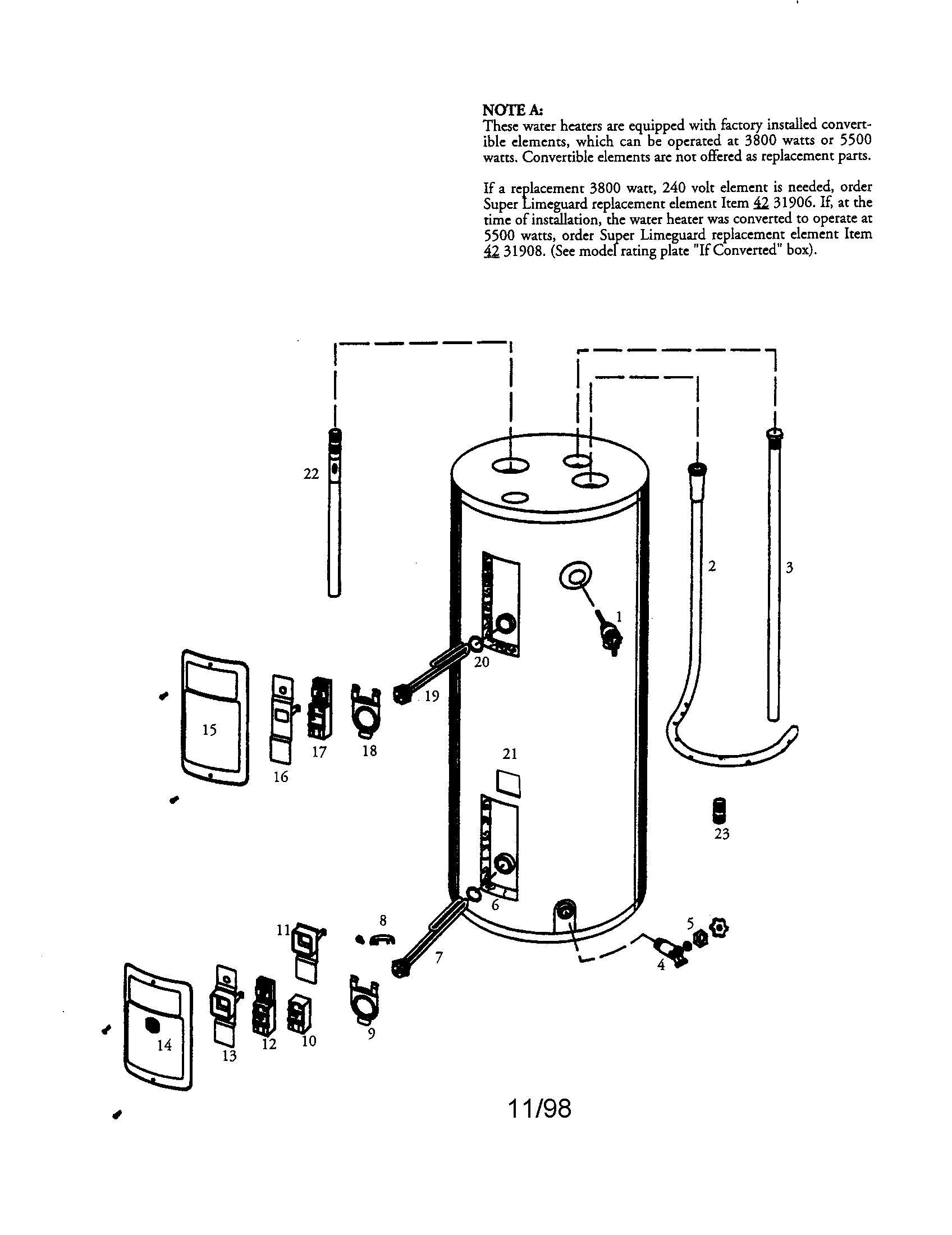 Ao Smith Dl Wiring Diagram