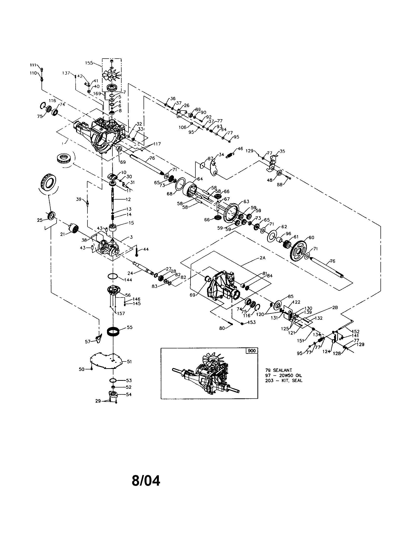 Detailed Wiring Diagram 917 Lawn Mower