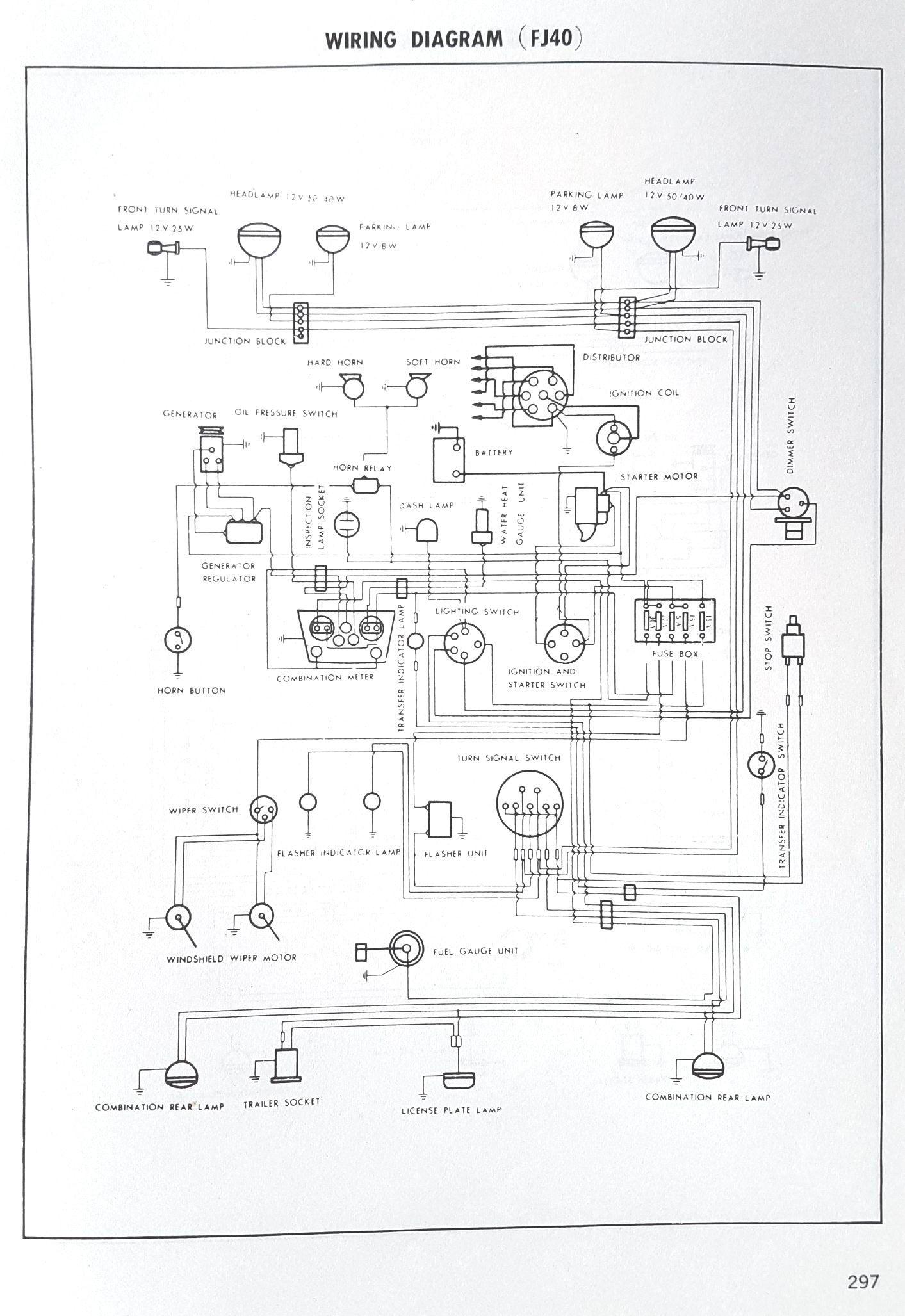 Fj45 Wiring Diagram