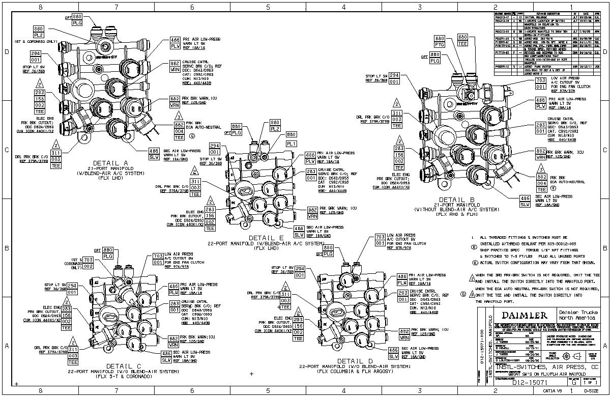 Freightliner Columbia Rear Blower Motor Wiring Diagram