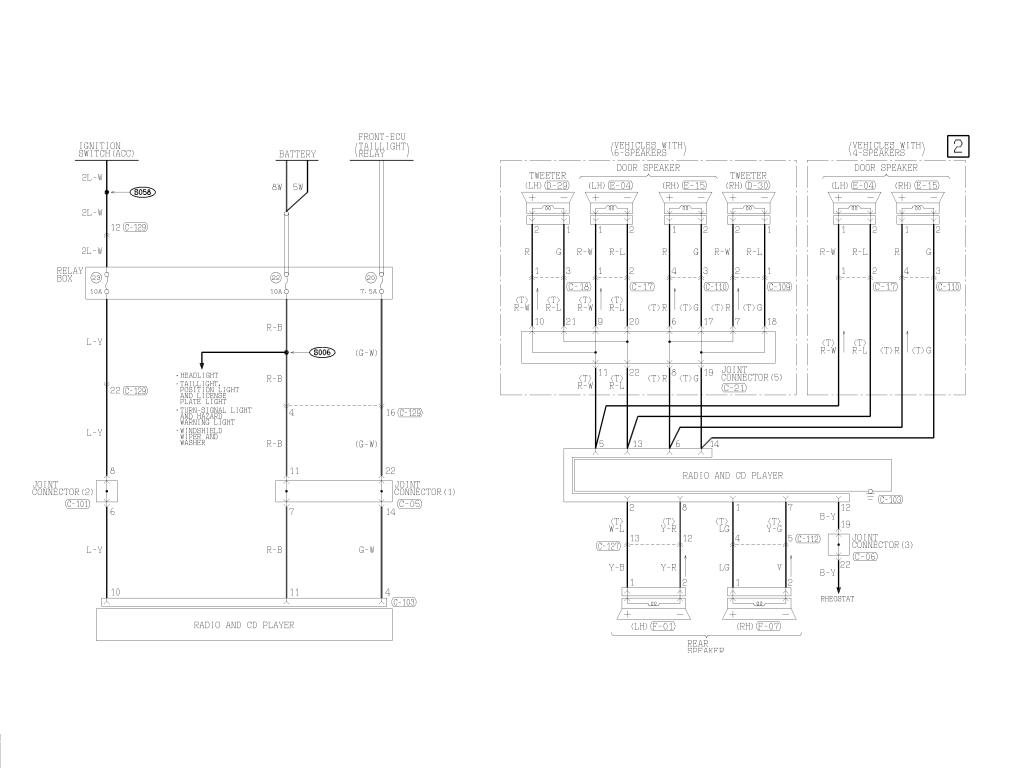 Harmony Audio 04 Lancer Wiring Diagram
