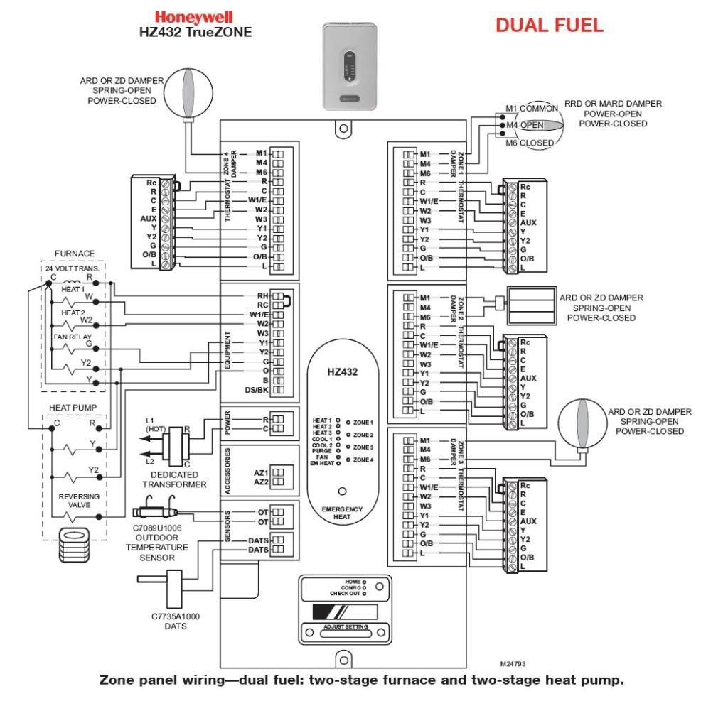 Honeywell Vr Wiring Diagram