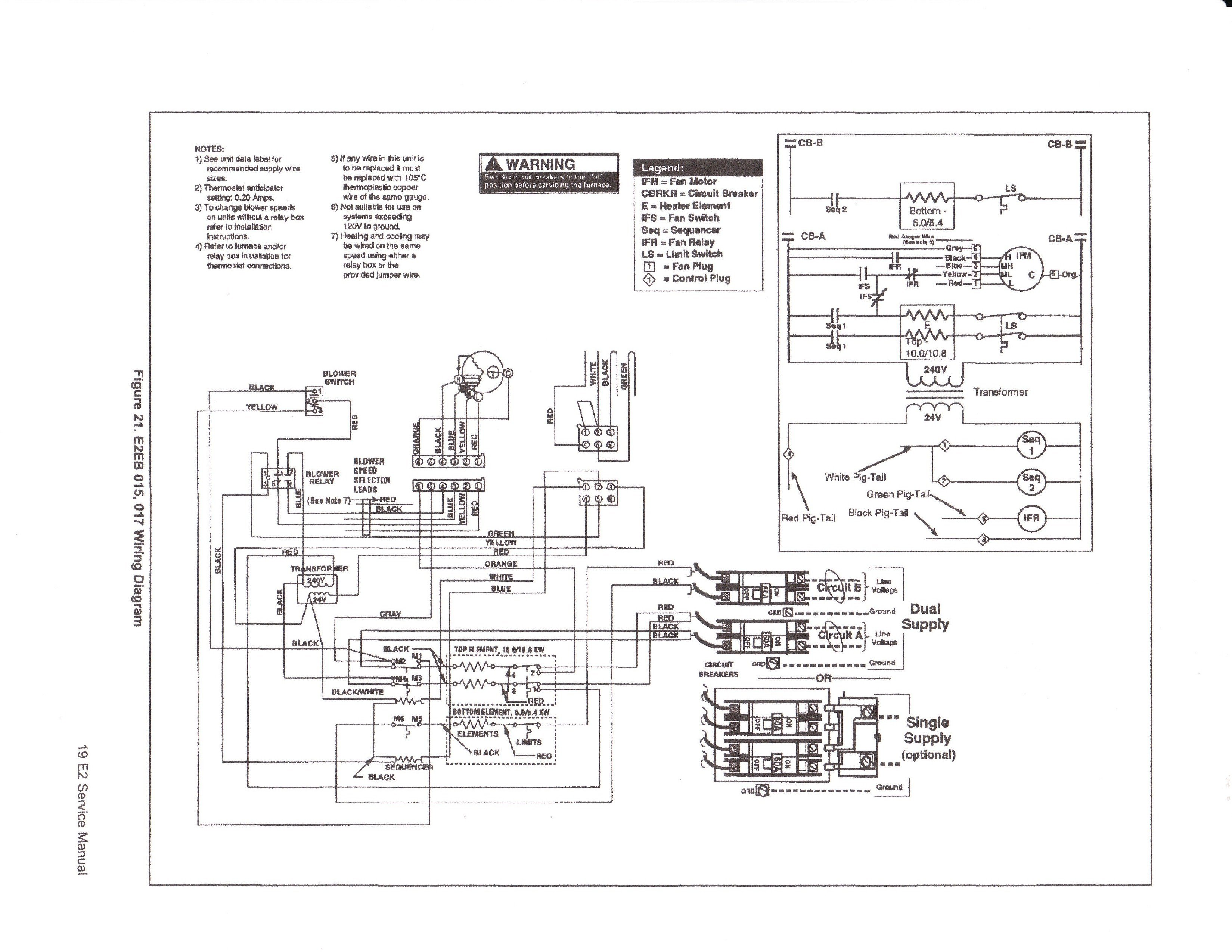 Intertherm Air Conditioner Wiring Diagram