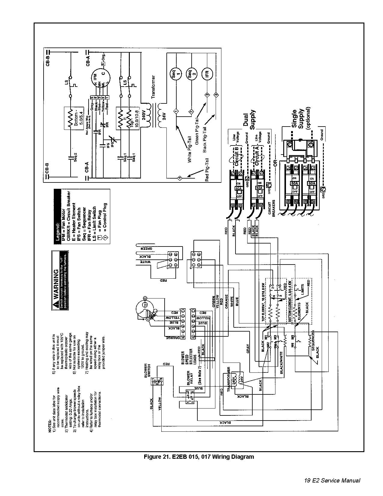 Intertherm Heat Pump Relay Switch Wiring Diagram