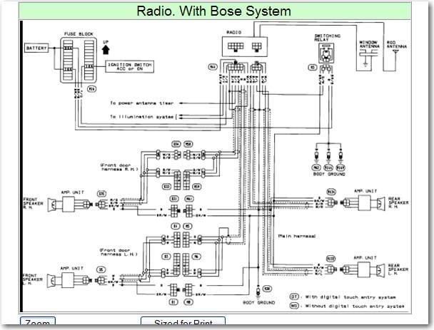 diagram cadillac bose radio wiring diagram full version hd