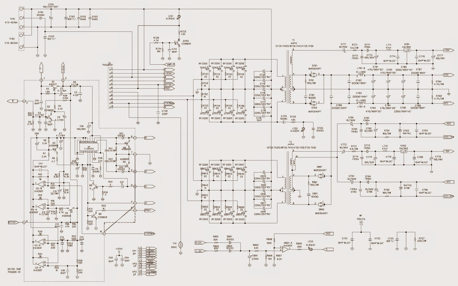 Jbl 818 Wiring Diagram
