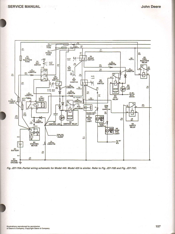 John Deere Lawn Tractor Lx255 Wiring Diagram