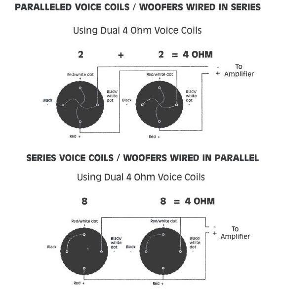 kicker cvr 12 4 ohm wiring diagram  bmw radio wiring