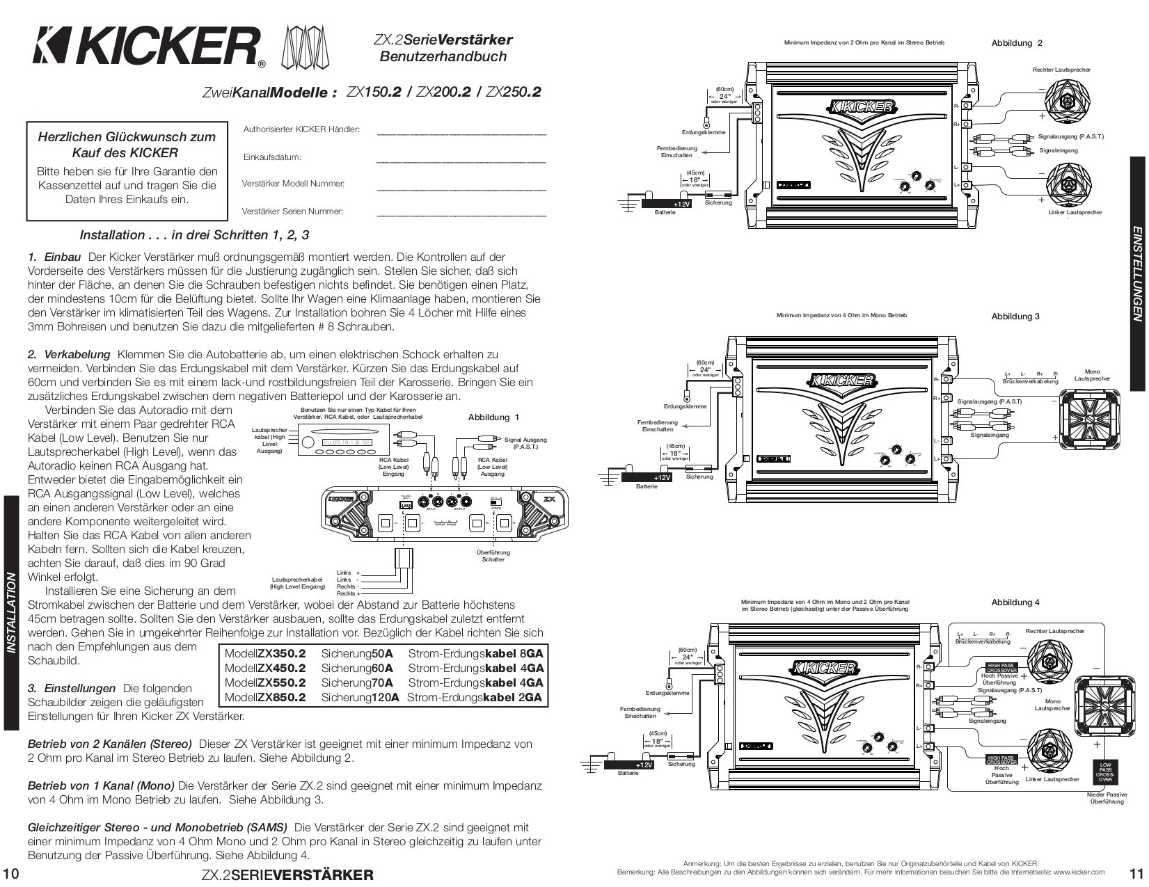 Kicker L5 Wiring Diagram