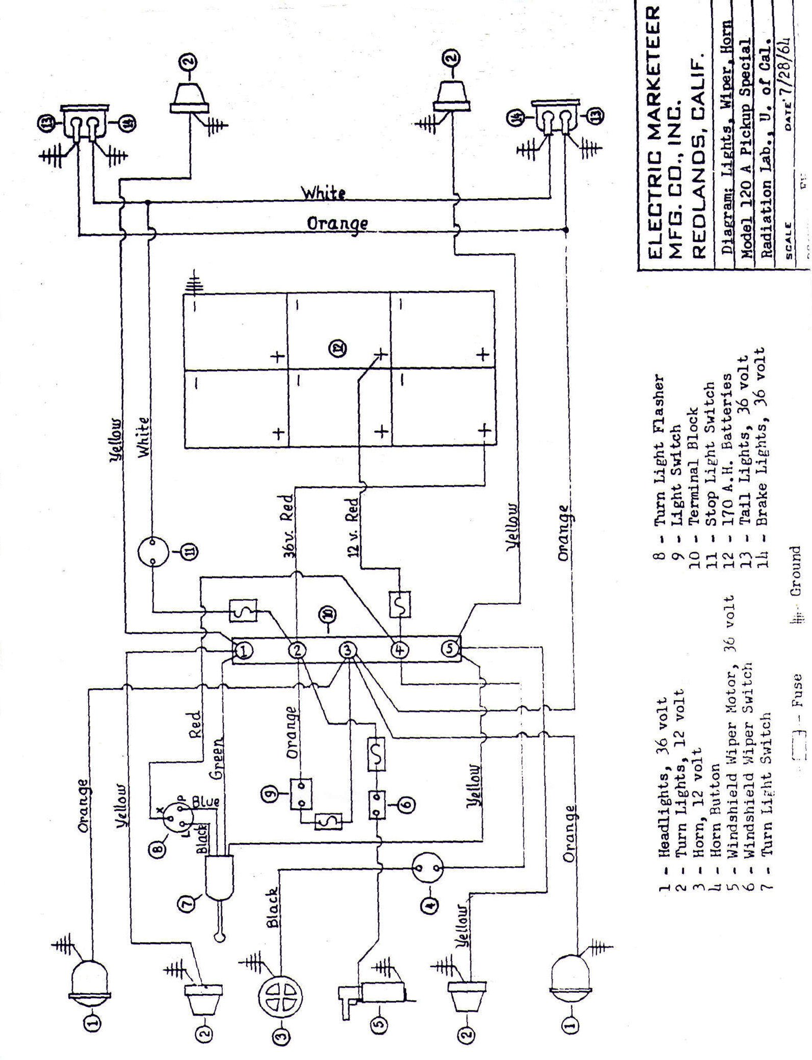 Melex 412 Golf Cart Wiring Diagram
