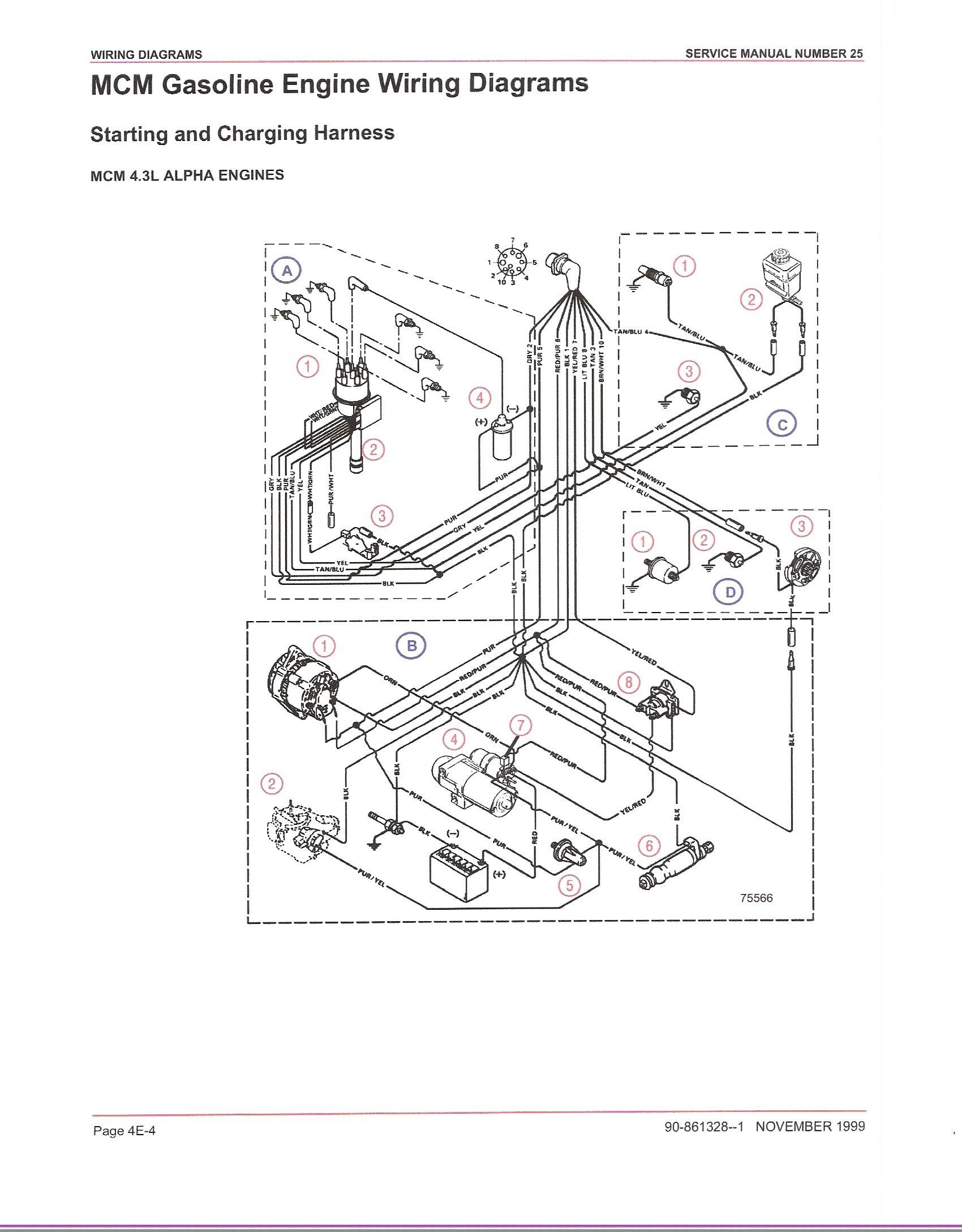 Mercruiser Thunderbolt Iv Ignition Module Wiring Diagram