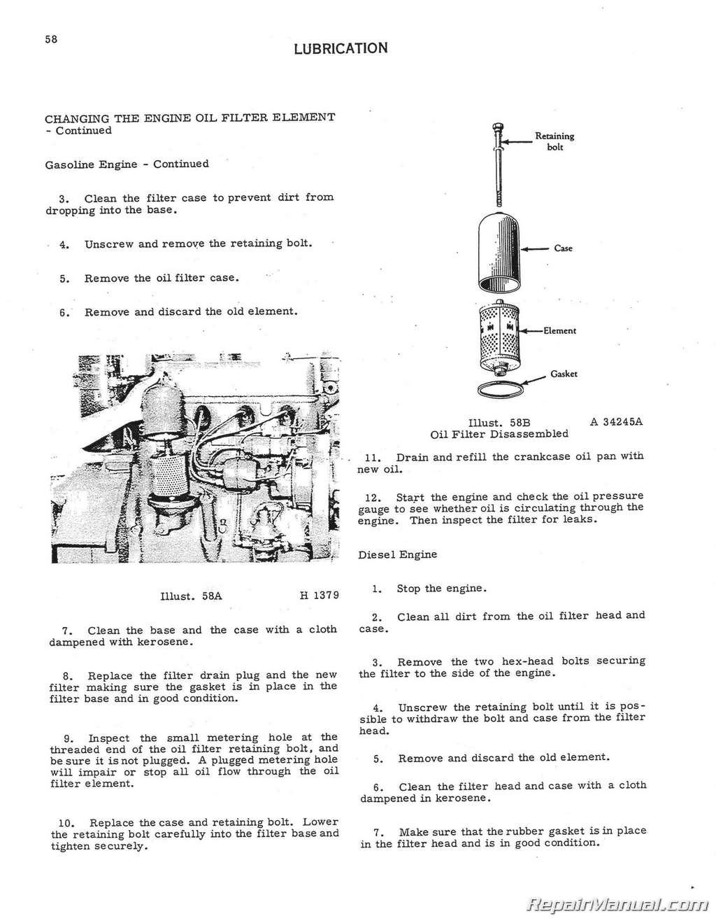 Model Oliver Wiring Diagram