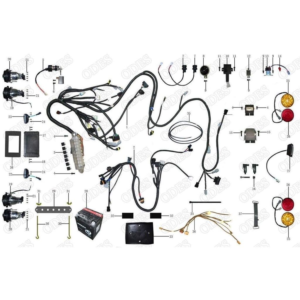 Odes Atv400 B 4x4 Wiring Diagram