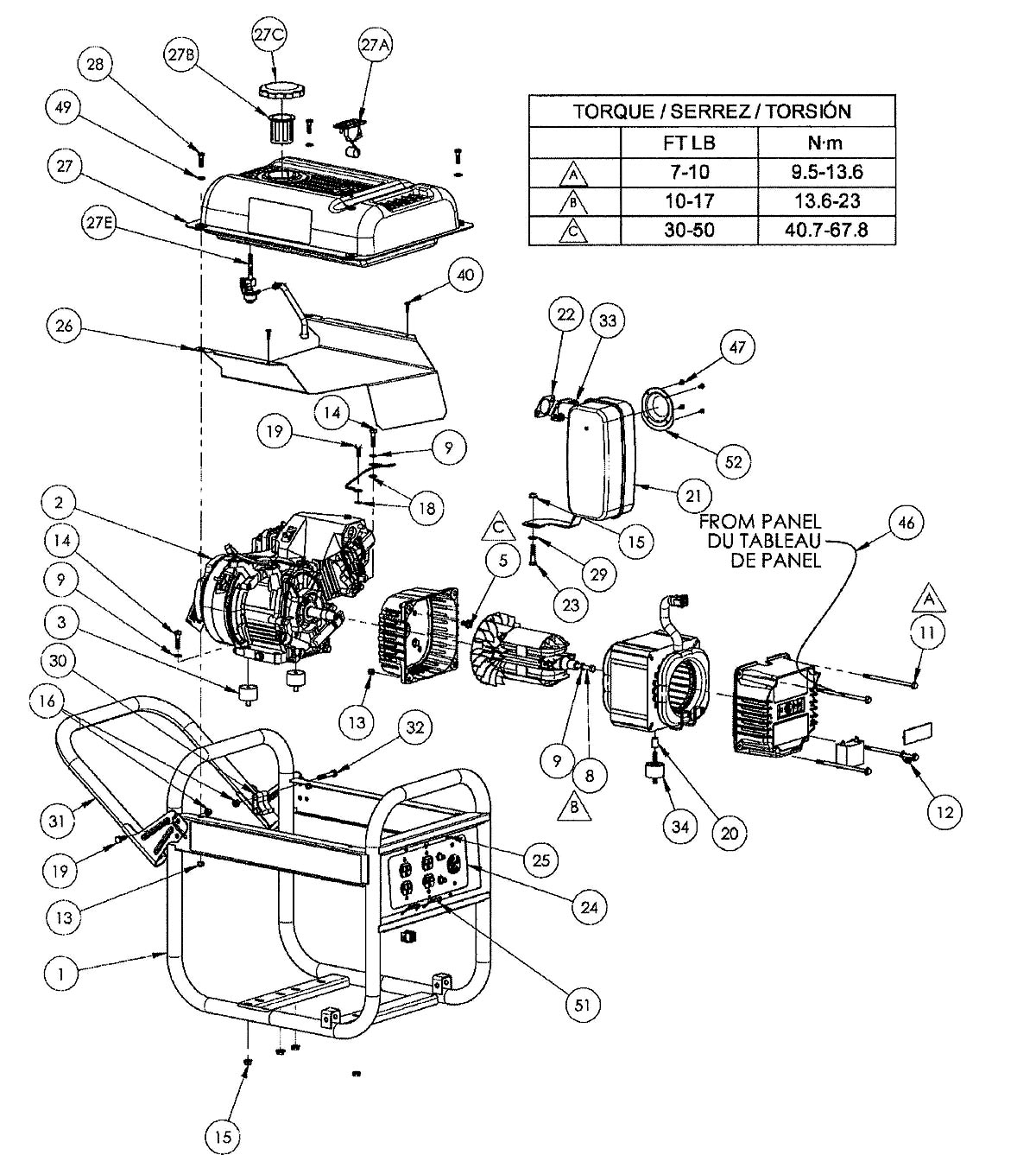 Old Generator Generac Wiring Diagram Watt