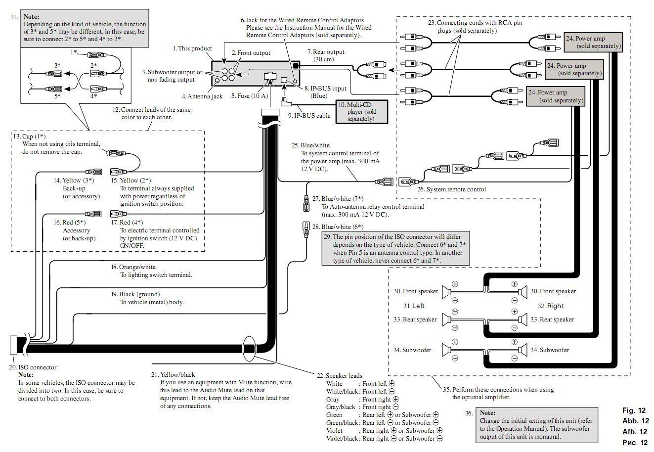 Pioneer Deh 635 Wiring Diagram