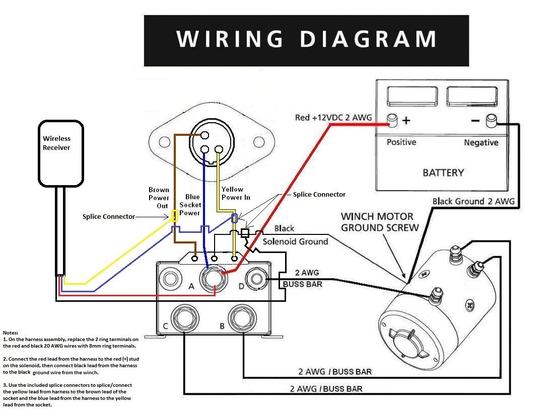 Ramsey Winch Motor Wiring Diagram