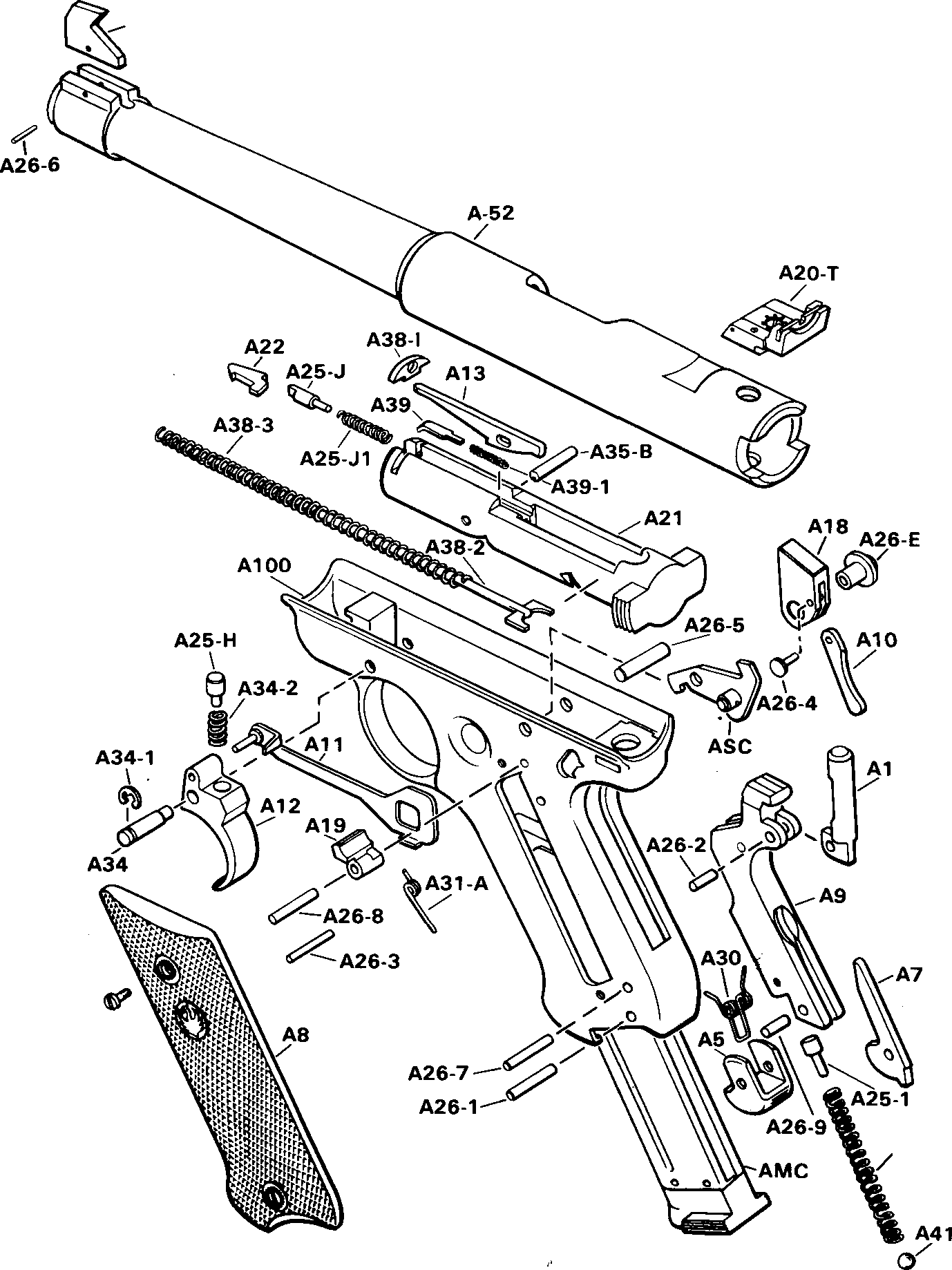 Ruger Mark Iii Assembly Diagram