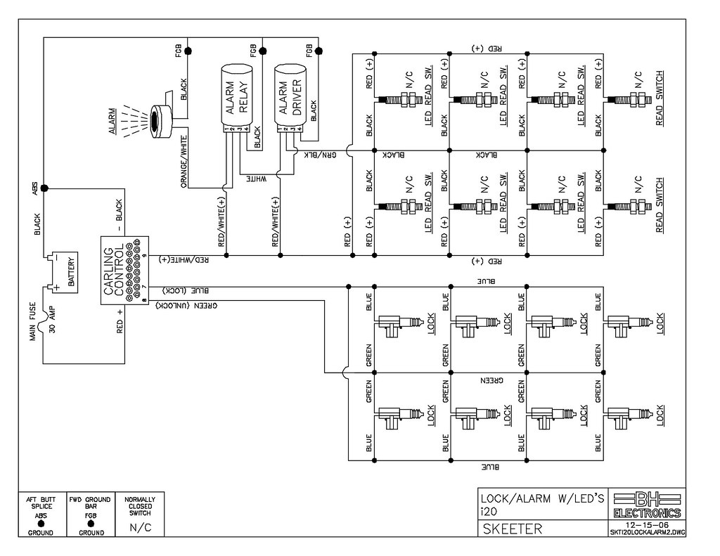 Skeeter Bass Boat Wiring Diagram